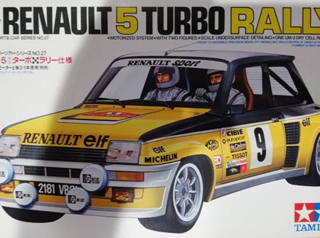 Tamiya 1/24 Renault 5 Turbo Rally (TAM24027)