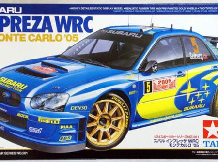 Tamiya 1/24 Subaru Impreza WRC Monte Carlo 05 (TAM24281)