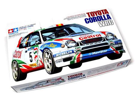 Tamiya 1/24 Toyota Corolla Wrc Sainz Auriol Catalunya Castrol 1998