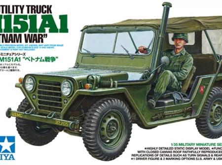 Tamiya 1/35 US Utility Truck M151A1 Vietnam War