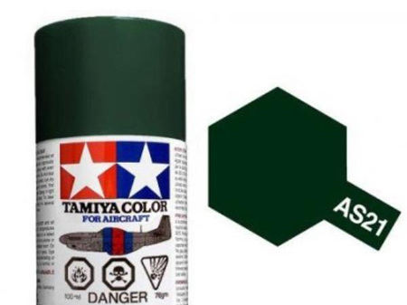 Tamiya AS-21 Dark Green 2 (IJN) - 100ml Spray Can