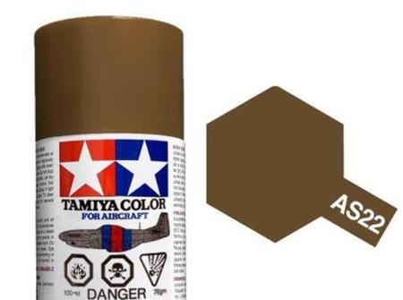 Tamiya AS-22 Dark Earth (RAF) - 100ml Spray Can