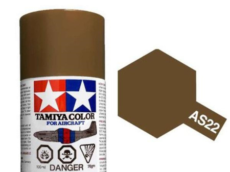Tamiya AS-22 Dark Earth (RAF) - 100ml Spray Can