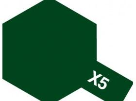 Tamiya Enamel X-5 Green (10ml)