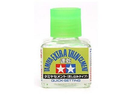 Tamiya Extra Thin Cement Quick-Setting (TAM87182)