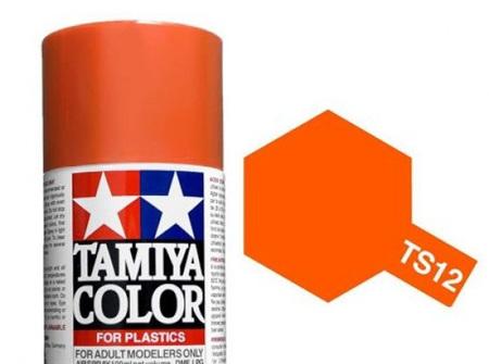 Tamiya TS-12 Orange - 100ml Spray Can