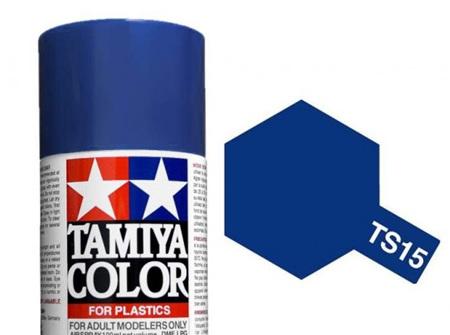 Tamiya TS-15 Blue - 100ml Spray Can