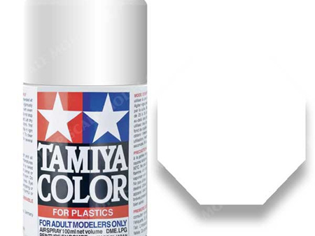 Tamiya TS-27 Matt White- 100ml Spray Can