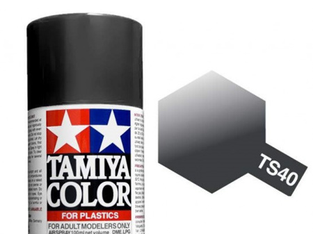 Tamiya TS-40 Metallic Black - 100ml Spray Can