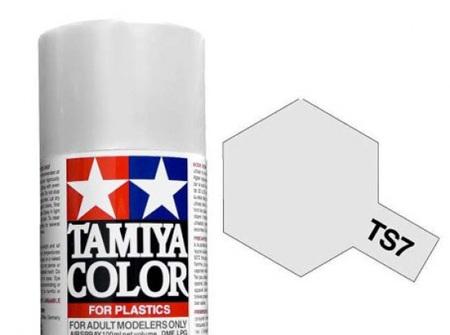 Tamiya TS-7 Racing White - 100ml Spray Can