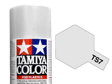 Tamiya TS-7 Racing White - 100ml Spray Can