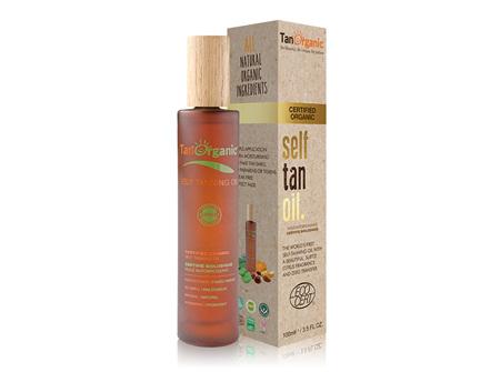 TAN Organic Self Tanning Oil 100ml