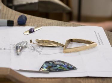 Tane Pendant In Workshop