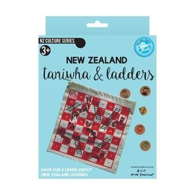 Taniwha & Ladders Game