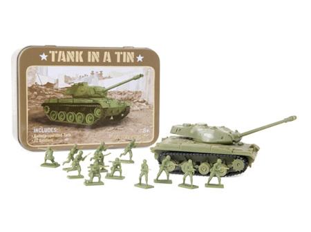 Tank in Tin