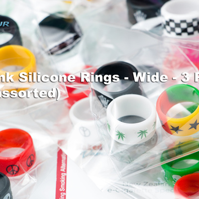 Tank Silicone Rings - 3 Pack (assorted)