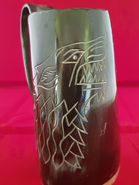 Tankard Type 7 - Tankard with Wolf Head and Shoulders