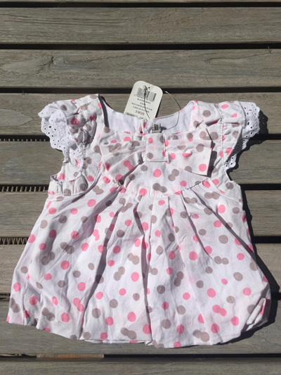 Tapealoeil.. pink spot dress