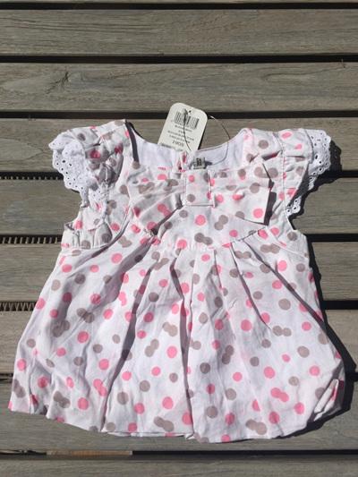 Tapealoeil.. pink spot dress
