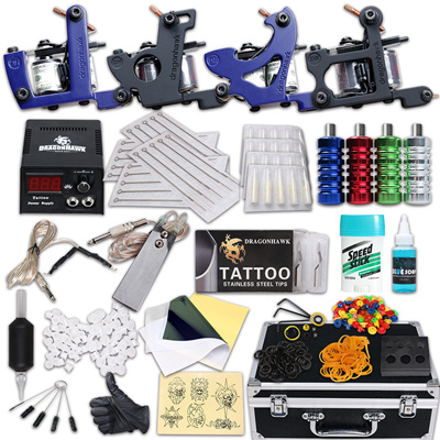 Tattoo kit 4 guns with extra M202 - 1