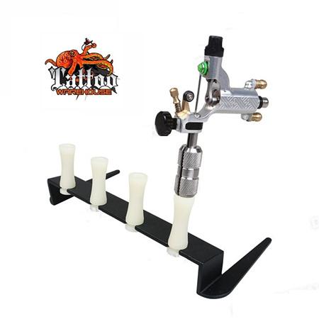 Tattoo Machine Steel Holder Stand For 4 Machines