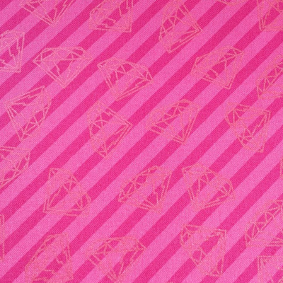 Tattooed -  Pink Gem Stripe