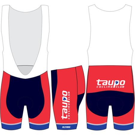 Taupo Cycling Club Bibshorts