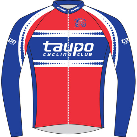 Taupo Cycling Club Warmup Jacket