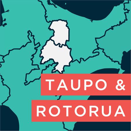 Taupo & Rotorua