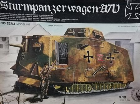 Tauro Model 1/35 Sturmpanzerwagen A7V (N.101)