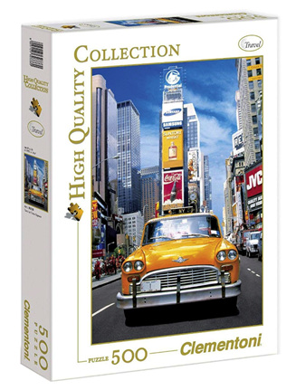Clementoni 500 Piece Jigsaw Puzzle: Taxi in Time