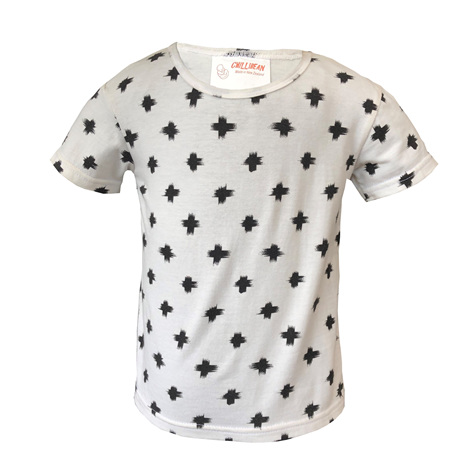 'Taylor' Tee, 'Paint Plus' 100% Cotton, 3 years