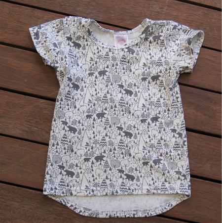 'Taylor' Tee, 'Scandi Bear' 100% Cotton Knit, 18-24m