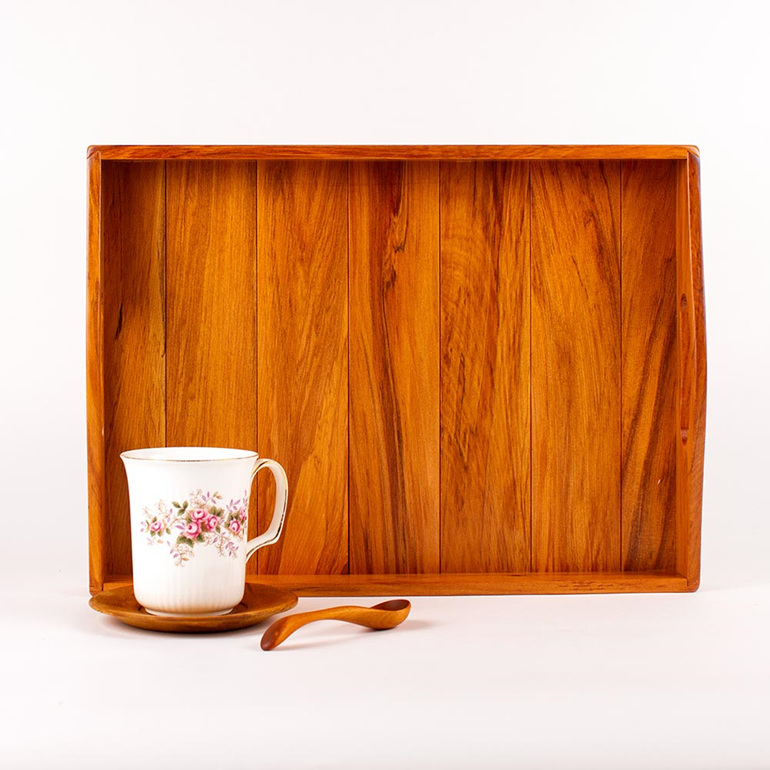 tea and coffee tray - heart rimy