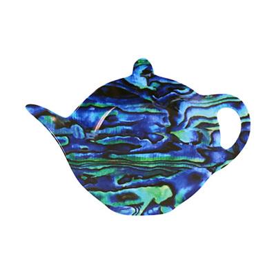 Tea Bag Holder: Paua
