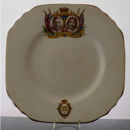 Tea plate Commemorate Coronation 1953
