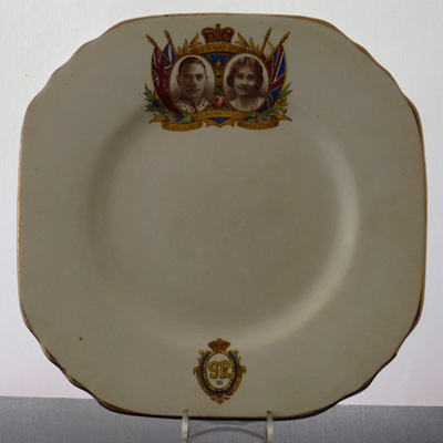 Tea plate Commemorate Coronation 1953