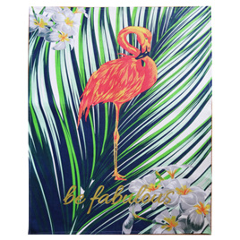Tea Towel - flamingo cotton