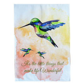 Tea Towel - Hummingbird
