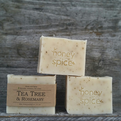 Tea Tree and Rosemary Soap