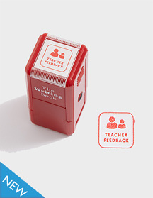 Teacher Feedback Self-inking Stamp