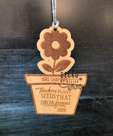 Teacher Flower Ornament