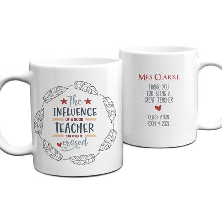 Teacher Influence Personalised Mug