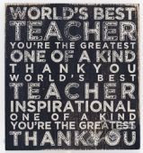 Teacher - Plaque