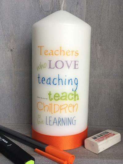 Teachers who love to teach