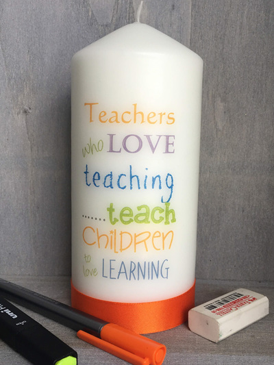 Teachers who love to teach