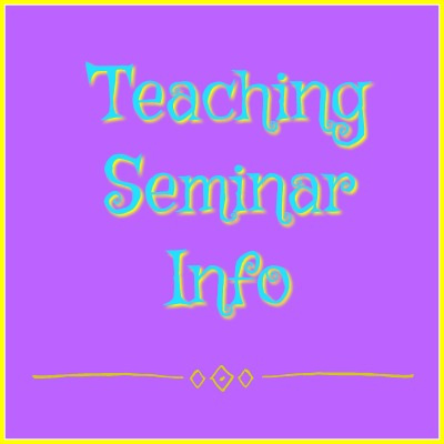 Teaching Seminars Information