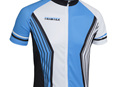 Team Cycling Shirt White/Blue/Black