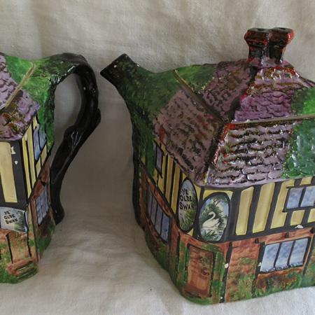 Teapot and water jug