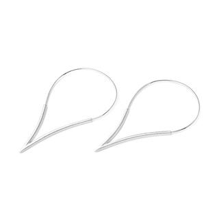 Teardrop Hoop Large Earrings